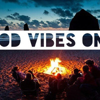 Bonfire Poster - Good Vibes Only