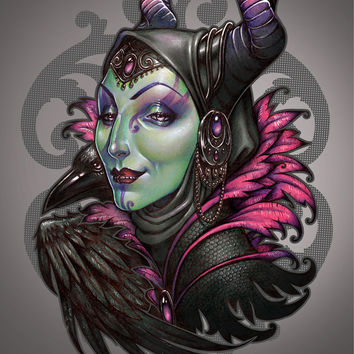 """""""It's hard to be green!"""" Art Print by Medusa Dollmaker"""