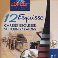 Sketching Carres 12/Pkg-Assorted, Reeves - Barnes &amp; Noble