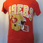 VTG 80s SAN FRANCISCO 49ers NFL Logo 7 S-M Rice Montana Super SOFT T-SHIRT