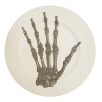 Luna & Curious — Skeleton Hand Side Plate