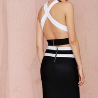 Nowhere to Go But Up Knit Skirt