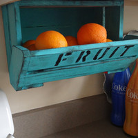 The ORIGINAL caBINet cabNEAT CUSTOM Kitchen Chic Fruit Bin Crate Office Supply  Utility Baby Room Organizer  Closet  Pantry