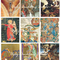 "Digital Collage Sheet - Clip Art Elements- Digital Scrapbooking -""Angels 2"""