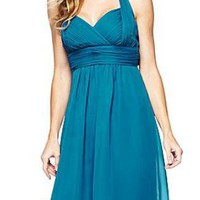 Emsal 2012 Lilianna Shirred Halter Dress