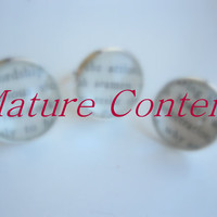 Mature content book page ring, custom made