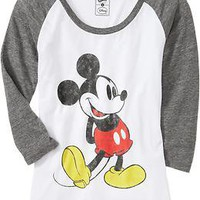 Women&#x27;s Disney Mickey Mouse Tees | Old Navy
