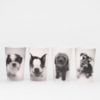 Lenticular Puppy Cup - Set Of 4