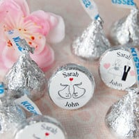 Personalized Hershey&#x27;s Chocolate Wedding Favors