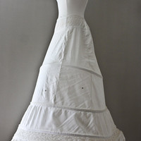 Hoop Petticoat - Bridal - Civil War- Antique - 1800s