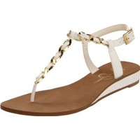 Jessica Simpson Women&#x27;s Js-Joey T-Strap Sandal - designer shoes, handbags, jewelry, watches, and fashion accessories | endless.com