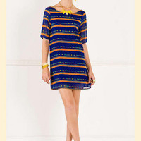 Color Palette Shift Dress