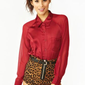 Ruby Pocket Blouse
