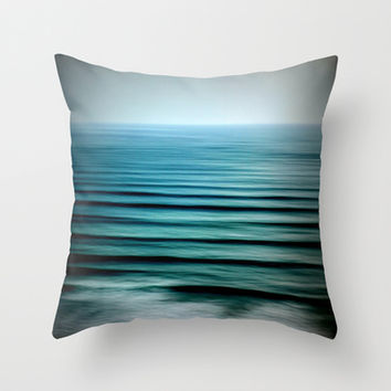 Water Throw Pillow by 2sweet4words Designs