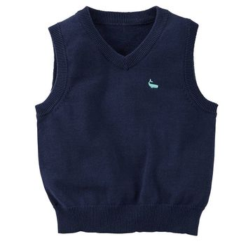 Carter's Nautical Sweater Vest - Toddler Boy