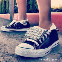 Urban Eclectics  Converse Studded All Stars