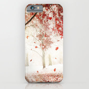 Scarlet and Snow iPhone & iPod Case by Jenndalyn