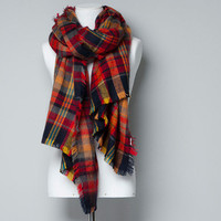 COLOURED SOFT CHECKED SCARF - Scarves - Accessories - Woman - ZARA United Kingdom