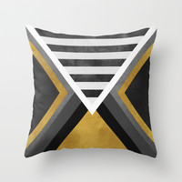 Letter Throw Pillow by Elisabeth Fredriksson