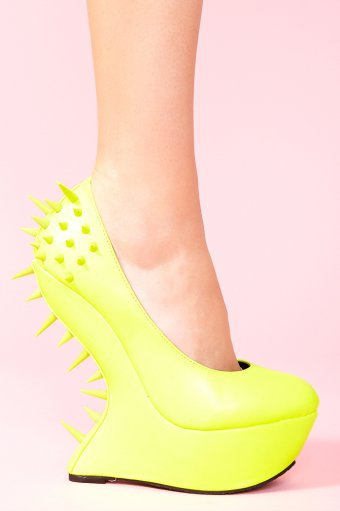 Jolt Spike Platform - Neon Yellow