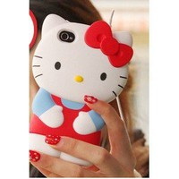 Hello Kitty iPhone Case/Cover/Faceplate/Protector (3D)