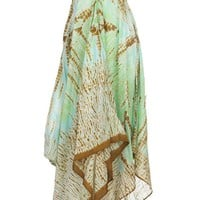MATTA Alex Tie Dye Dress - Green Dresses - 25Park.com
