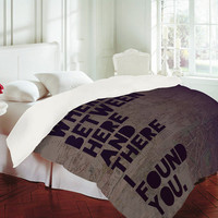 DENY Designs Home Accessories | Leah Flores Here And There Duvet Cover