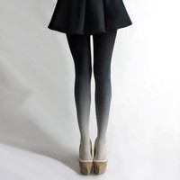BZR Ombr tights in Coal
