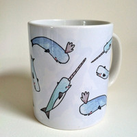 Narwhal Mug 11oz