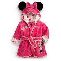 Disney Minnie Mouse Bath Robe for Baby | Disney Store