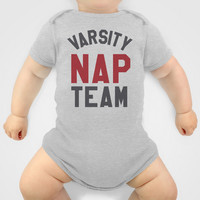 Varsity Nap Team Baby Clothes by CreativeAngel