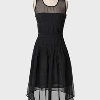 evening rendezvous dress in black at ShopRuche.com