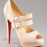 Christian Louboutin Platform Pump - $200.00 : Designer Shoes Online,Wholesale Designer Shoes,Designer Discount Shoes