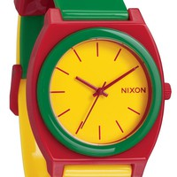 Nixon Time Teller P Rasta Watch - Cool Watches from Watchismo.com
