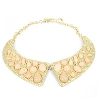 Light Pink Collar Necklace on Luulla