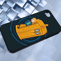 Ledneb Doctor Who, TARDIS, Adventure Time, Finn, Jake adnaloy all new design case