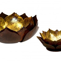 Lotus Flower Dishes