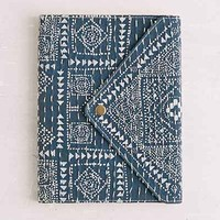 Oh Snap Stitched Journal- Navy One