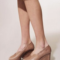 Monroe python wedge SOLD OUT [Caw8732] - &amp;#36;348 : Pixie Market, Fashion-Super-Market