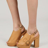 Slingback peep toe platform [Bst8500] - &amp;#36;272 : Pixie Market, Fashion-Super-Market
