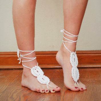 Barefoot Sandals by KnitPopShop