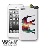 Elephant Nebula iPhone 5 Case New Hard Fitted Case For iphone 5 iPhone Case