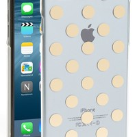 Women's kate spade new york 'le pavilion' iPhone 6 Plus case - Metallic