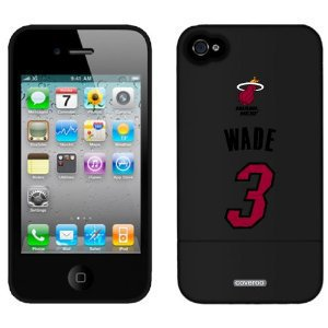 Dwyane Wade - Wade 3 design on iPhone 4 / 4S Slider Case by Coveroo: Cell Phones & Accessories
