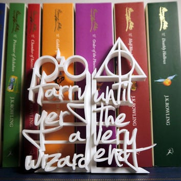 Harry Potter - 3D Printed Book Ends