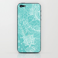 Garden of Earthly Delights iPhone &amp; iPod Skin by Catherine Holcombe | Society6