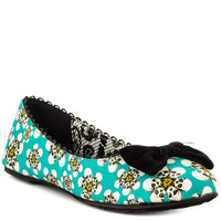 Iron Fist - Tripping Daisies Flat - Turquoise