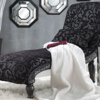 Sonya Carved Chaise from Midnight Velvet?-