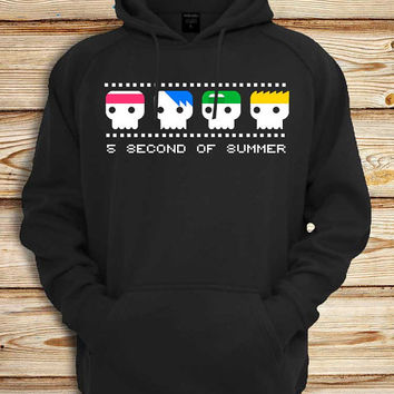 5 seconds of summer funny Screenprint design for Unisex hoodie sweatshirt for gift