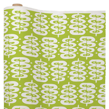 Heather Dutton Fern Frond Green Fabric By The Yard